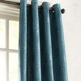 "Peacock Feather 84"" Grommet Curtain"