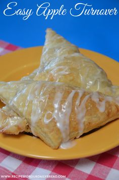 Super Easy Flaky- two ingredients  #Apple #Turnover