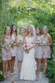 My wedding day #personal #me #bridesmaids #blush #bridesmaiddresses