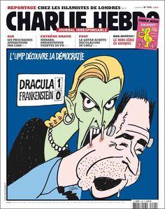 La une - semaine du 05 juin 2013 | Charlie Hebdo RIP - Freedom -