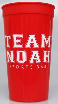 32 oz Personalized Stadium Cups with One Imprint Color                  Great Price!            3 Cup Colors to Choose From!      Print on 1 Side or 2 Sides - No additional charge!      Over 400 designs or monograms to choose from!*     Over 100 typestyles/fonts to choose from!        Over 40 imprint colors to choose from!      Lots of flexibility in layout of personalization.         Top Shelf Dishwasher Safe      Rush options available     Recyclable       Made in the U.S.A      Printed…