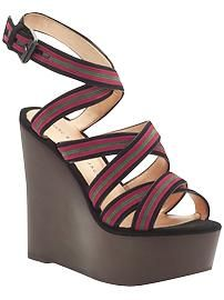 marc jacobs wedges. i just love marc jacobs. he's a genius