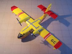A faire : maquette heller 1/72 Canadair CL-415 Securité civile