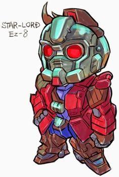 GUNDAM GUY: GUNDAM x MARVEL SUPER HEROES | Robots! (mechs and ...