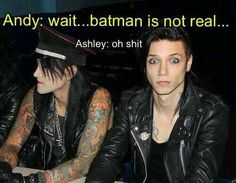 Oh no. Batman is real.
