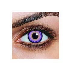 Lentille violet triple EFFET NATUREL - idealik.fr