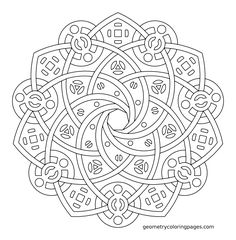 The 23 Best Ideas for Geometric Coloring Pages for Adults . Coloring pages are no longer just for youngsters. Coloring books are selling well in the grown-up market. Geometric Coloring Pages, Pattern Coloring Pages, Mandala Coloring Pages, Coloring Book Pages, Printable Coloring Pages, Coloring Pages For Grown Ups, Laser Art, Celtic, Geometric Mandala