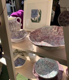 Nicole Miranda of Originally Nic is a Sydney Graphic and Visual Artist plus Ceramicist inspired predominantly by nature. Ceramic Artists, Serving Bowls, Original Artwork, Ceramics, Tableware, Handmade, Ceramica, Pottery, Dinnerware