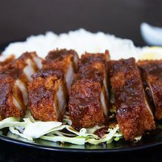 Miso Katsu, Breaded Pork Cutlet with Red Miso Sauce