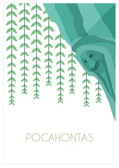 Biollywood - Pocahontas (1995) #biollywood #plant #minimal #movie #pocahontas