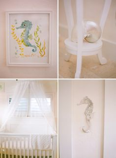 Baby Michael and His Sea Themed Nursery