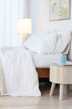 This Bed Is Begging For Breakfast In Bed. How To Make Bed, Beautiful  Bedrooms