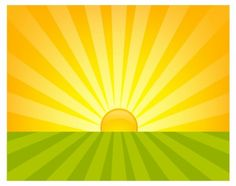 Sunrise Free vector in Adobe Illustrator ai ( .AI ), Encapsulated ...