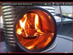 wood stove runs a generator, produces gasoline, runs a fridge and heats hot water at the same time - YouTube#t=3660