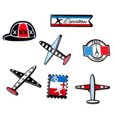 1PC Fashion Exclusive Safe Pin On Brooches Acrylic Airplane Aircraft Flower Piercing Lapel Brooch Pins Women Jewelry Accessroies