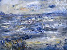 Jack Butler Yeats (irlandais) Queen Maeve Walked upon this Strand Huile sur toile x Gallery Of Modern Art, Art Gallery, Irish Painters, Jack B, Painter Artist, Irish Art, Art Uk, Art For Art Sake, Oil On Canvas