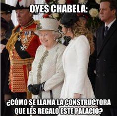 Memes de la visita de Angélica Rivera y Peña Nieto al Reino Unido