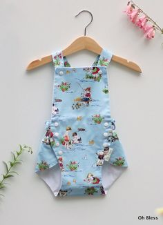 Hey, I found this really awesome Etsy listing at https://www.etsy.com/ca/listing/221900743/vintage-style-retro-baby-sunsuit-with