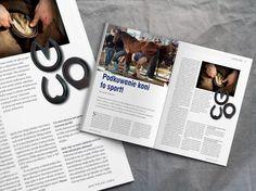 Podkuwanie koni to sport-Centrum Podkuwnicze T.B. Luty/February Koń Polski Magazyn