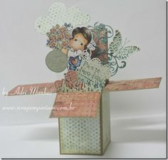 Card in a box com For you Tilda