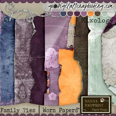 Family Ties Worn Papers | Mixology