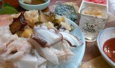 문어, 멍개, 소라...그리고 처음처럼   소주, soju, 처음처럼, 한국 술, korean drink, 알칼리 환원수로 만든 깨끗한 술♥