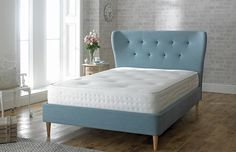 Jason's room Limelight Aurora Fabric Bed.  from £355
