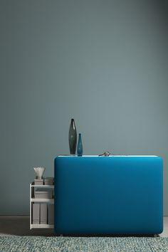 Quadratischer 3d Hocker Mit Akustischer Wirkung Sorgt Fur Eine