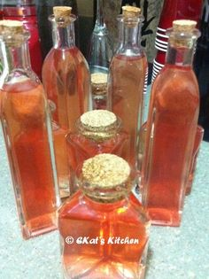 Crab Apple Liqueur
