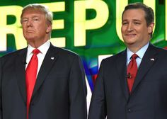 """Share or Comment on: """"USA: GOP Rivals Promise Trump Support If He Is Nominee"""" - http://www.politicoscope.com/wp-content/uploads/2016/01/USA-News-GOP-presidential-candidates-Donald-Trump-and-Ted-Cruz-stand-on-stage-during-CNN-presidential-debate-at-The-Venetian-Las-Vegas.jpg - While Donald Trump's three rivals followed party dogma, insisting they would set aside their concerns and rally around the ultimate nominee.  on Politicoscope: Politics - http://www.politicoscope.com/201"""