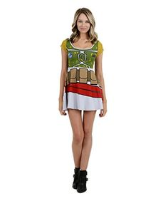 Star Wars I Am Boba Fett Girls Skater Dress Medium ** Find out more about the great product at the image link.