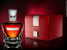 Brugal 'Papa Andres' Coleccion Privada de la Familia Ron Dominicano. A luxury rum by Brugal, from the Dominican Republic. Starts around $1100 a bottle (if we can call this a bottle!)