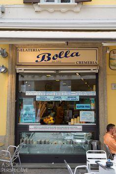 Gelato - Town of Como. Italy