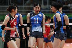 女子バレー、相手エースを止められず、宿敵韓国に敗れ日本は黒星発進 - gorin.jp #リオ五輪 #バレーボール