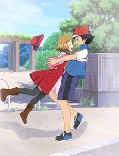 Kalos Pokemon, Pokemon Tv, Pokemon Ships, Cool Pokemon, Perfect Couple, Best Couple, Kalos Region, Baby Sans, Pokemon Ash And Serena