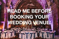 Wedding Venue - Everything you need to know!