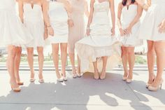 Bridesmaids in white  Photography by shewanders.com
