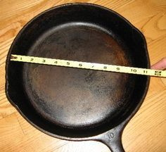 The first most common mistake of why people do not like cast iron is that they say everything sticks. If food sticks to your cast-iron pan, your pan is NOT seasoned right and you need to re-season it. Cast iron is a natural non-stick surface and if your pan is seasoned correctly it WILL NOT stick!