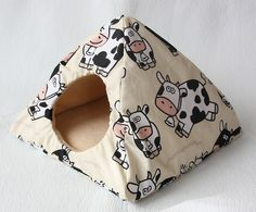 cuddle tent/hut crazy cows for guinea pigs