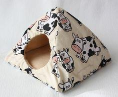 cuddle tent/hut crazy cows for guinea pigs