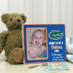 Florida Gators Youth Born To Be Picture Frame