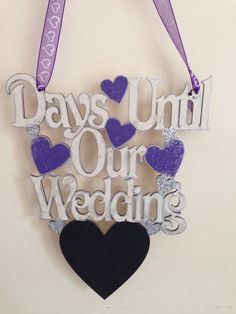 Count down to wedding