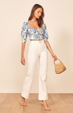 There's a massive Reformation sale at Nordstrom (think dresses, jumpsuits, and tops). We picked the 11 pieces you'll want to buy immediately—all at off. Cute Summer Outfits, Classy Outfits, Stylish Outfits, Spring Outfits, Fashion Outfits, Womens Fashion, Outfit Summer, Nordstrom, Glamour