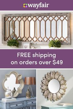 Mirrors: Sign up for access to exclusive sales – all up to 70% OFF! Reflect your style with thousands of wall mirrors, bathroom mirrors, and more. A little reflection goes a long way to keep your room looking open and fresh. Plus, they're perfect for just https://www.fanprint.com/licenses/green-bay-packers?ref=5750