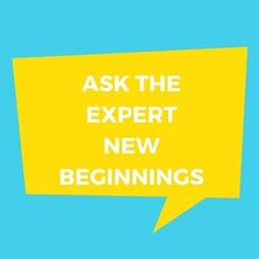Ask the Expert - New Beginnings - http://mastertheevent.com/ask-the-expert-new-beginnings/