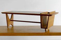 1950-1970-GUILLERME-CHAMBRON-TABLE-BASSE-MODERNISTE-FORME-LIBRE-Vallauris