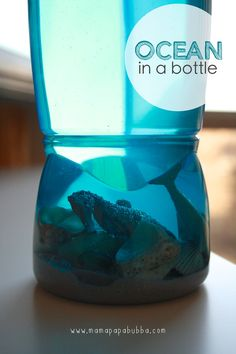 Ocean in a Bottle | Mama.Papa.Bubba.