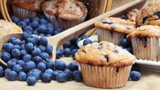 Muffin Basics – Homemade Muffin Recipes - Homemade muffins are easy to make! This post includes easy basic homemade muffin recipes along with tips and add-ins to make your muffins extra yummy! 21 Day Fix Breakfast, Breakfast Recipes, Breakfast Muffins, Breakfast Ideas, Paleo, Homemade Muffins, Homemade Biscuits, Homemade Recipe, Gluten Free Blueberry