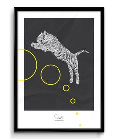 Tiger out ( A2 42x59,40 Cm ), kr249.00