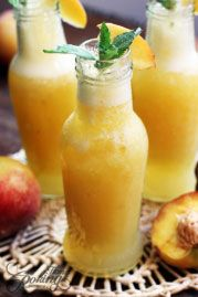 Summer Peach Drink
